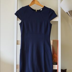 Felicity&Coco Small Navy back-zip closure dress